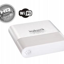 Streamer WIFI Inakustik 00415007, 24bit-96kHz, USB, Optic, AUX, Airplay, Spotify
