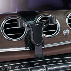 Suport auto pentru telefon CLEC cu prindere exclusiv pentru Mercedes Benz E class , negru