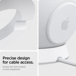 Suport boxa Spigen Silicon Fit Stand pentru Apple Homepod Mini alb