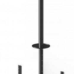 "Suport tv tavan dublu LCD/LED Spate in Spate Multibrackets 5477, 2 x 32-55"",negru,inaltime reglabila:min.832 max.3000mm"