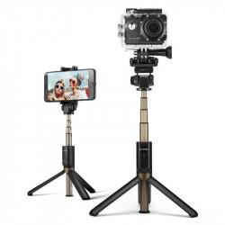 Trepied Selfie Stick 3in1 BlitzWolf BW-BS3 sport - negru