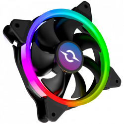 VENTILATOR 120 MM AQIRYS CETUS 4P-12SL12-RGB, 1200 RPM, 4-PIN