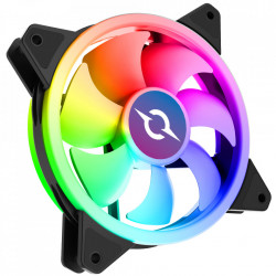 VENTILATOR 120 MM AQIRYS CETUS 6P-12DLI22-RGB, 1200 RPM, 6-PIN