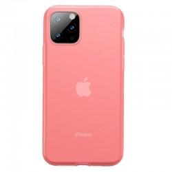 Husa telefon din gel Baseus Jelly pentru iPhone 11 Pro Max rosu , transparent