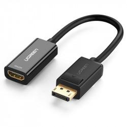 Adaptor, DisplayPort (male) - cablu HDMI 4K (female) UGREEN , negru