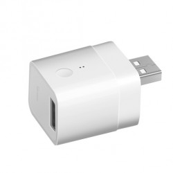 Adaptor USB Inteligent Sonoff, Micro, 5V, Wireless, Compatibil cu Google Home, Alexa & eWeLink