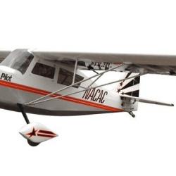 Aeromodel RC Pilot Decathlon scara 32% 80cc 3100mm argintiu
