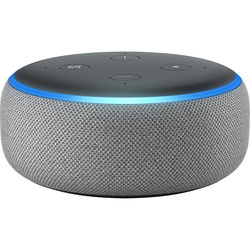 Amazon Echo Dot 3rd Generation Boxa Smart Heather Gray