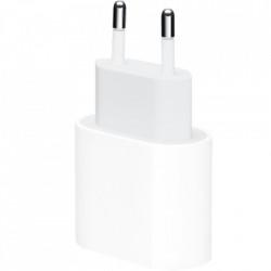 APPLE Incarcator priza EU cu iesire port USB Type C si viteza incarcare output PD 18W - Apple