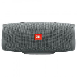 Boxa portabila JBL CHARGE4, BASS Radiator, Bluetooth, Connect+, USB, Powerbank 7500mAh, Rezistenta la apa IPX7, gri