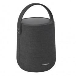 Boxa smart portabila Harman Kardon Citation 200, Wi-Fi, Bluetooth, IPX4, 8H, Airplay, Chromecast, Asistent vocal, Negru