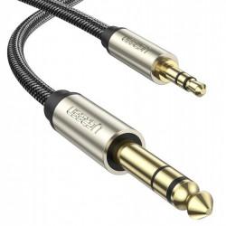 Cablu jack UGREEN AV127 3.5 mm pentru TRS - 10m (grey)