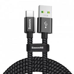 Cablu telefon Baseus USB / USB Type C QC3.0 5A 1m black (CATKC-A01)