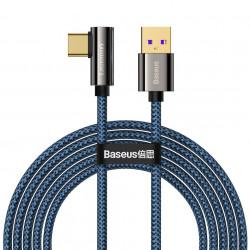 Cablu USB la USB-C Baseus Legend Series, 66W, 2m (blue)