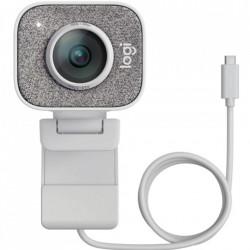 Camera web Logitech StreamCam, USB-C, Alb