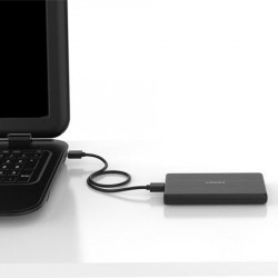Carcasa pentru hard disk USB 3.0 2.5 inch + cablu USB 3.0 Micro USB. ORICO