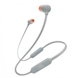 Casti in ear JBL T110BT, bluetooth, microfon, Gri