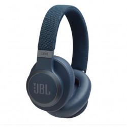 Casti Over-Ear JBL LIVE650BTNC, Noise Cancelling, JBL Signature Sound, Voice Assistant, Bluetooth Wireless, Albastru