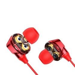 Casti telefon in ear cu bluetooth 4.1 , Baseus Encok S10 , rosu