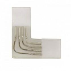 Conector prelungire banda LED, tip L, 220V, 2835