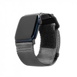Curea material textil UAG Active Strap LE Apple Watch 44/42mm Grey
