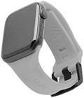 Curea silicon UAG Scout Strap Apple Watch 42/44mm Silver
