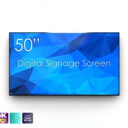 "Display LED 50"" nativ Full HD Superslim SWEDX SDS50X8-01, 3 HDMI + 2 USB"