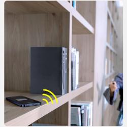 Dispozitiv antipierdere Baseus T3 mini ropetype Bluetooth white (ZLFDQT3-01)