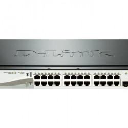 DLINK SW 20P-GB 4CMB 12P-POE SMART RM