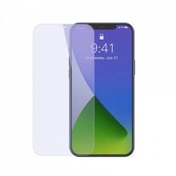 Folie de protectie Baseus 2x Sticla securizata 0,3 mm Anti Blue Light iPhone 12 Pro / iPhone 12 Transparent (SGAPIPH61P-LF02)