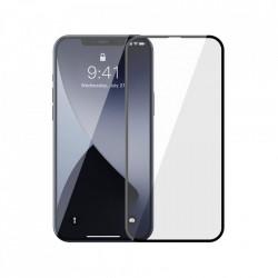 Folie de protectie Baseus 2x Sticla securizata 0,3 mm cu cadru pentru intregul ecran iPhone 12 Pro / iPhone 12 Negru (SGAPIPH61P-KA01)
