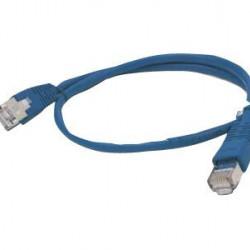 GEMBIRD PP12-0.5M/B patchcord RJ45 cat.5e UTP 0.5m blue