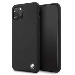 Husa BMW silicon iPhone 11 Pro - negru