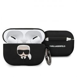 Husa de protectie Karl Lagerfeld pentru Airpods Pro - negru