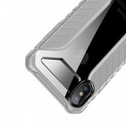 Husa protectie antisock, Baseus Michelin, pentru iPhone XS / X, gri