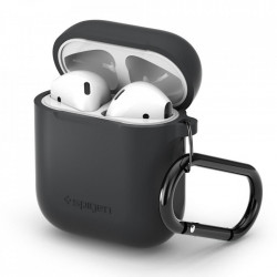 Husa Spigen Airpods Case Charcoal