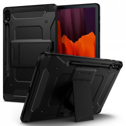 Husa tableta Spigen Tough Armor Pro pentru Samsung Galaxy Tab S7+ Plus 12.4 T970/T976 Black