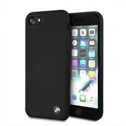 Husa telefon din silicon cu interior din microfibra , tip bumper , Bmw pentru Apple iPhone 7/8 , neagra
