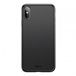 Husa telefon ultra subtire 0.4 mm , 5 grame , Baseus Wing pentru Apple iPhone X/Xs , negru