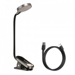 Lampa mini pentru citit, Baseus, gray (DGRAD-0G)
