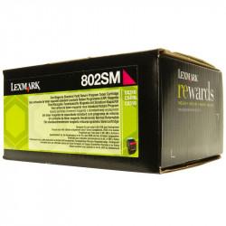 LEXMARK 80C2SM0 MAGENTA TONER