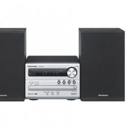 Microsistem audio Panasonic PM250EC-S Silver , 2ch / 20W (10W per canal), Bluetooth