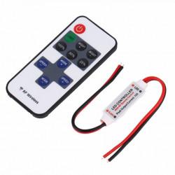 Mini-variator intensitate lumina banda LED, 12V, 72W, cu telecomanda RF