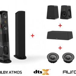 Pachet boxe Dolby Atmos cu Goldenear TRITON7, SCX, AON2 si INVISA600