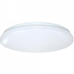 Plafoniera Slim Milky 32W=280W, Ø375 mm, 6500k, lumina rece