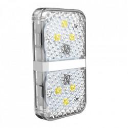 Set 2 x lampa avertizare luminoasa pentru usa deschisa, Baseus (CRFZD-02) , alb