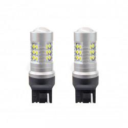 Set 2 x LED 1156 CANBUS 24SMD 3030 T20 7440 W21W 12V/24V