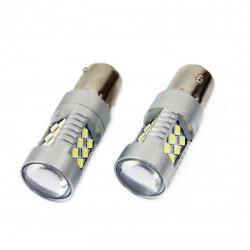 Set 2 x LED CANBUS 24SMD 3030 1156 (P21W) White 12V/24V