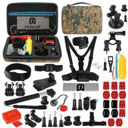 Set de 53 de accesorii Puluz pentru camere sport PKT27