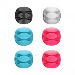 Set organizatoare cabluri BlitzWolf BW-PM1 (2 sloturi) multicolor (6 bucati)